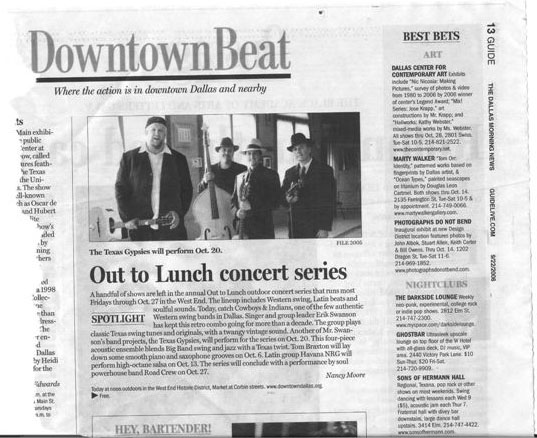 Downtown beat Concert series