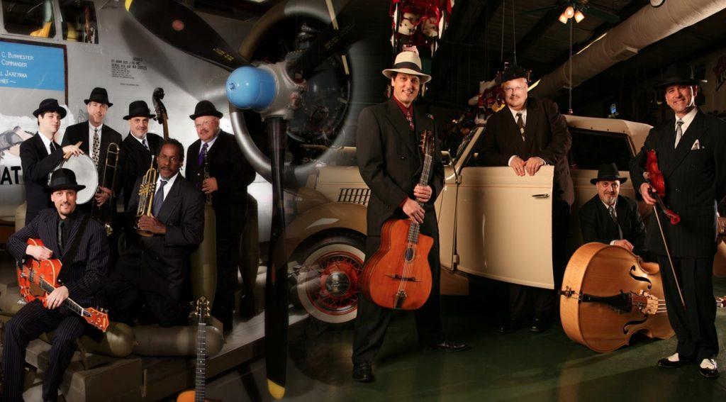 Swing band-Gypsy Jazz band